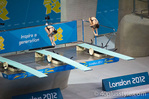 synchronised diving during london 2012 olympics