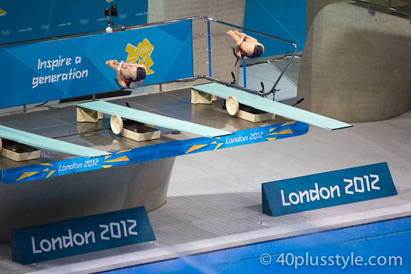 Winning dive at Olympics in London