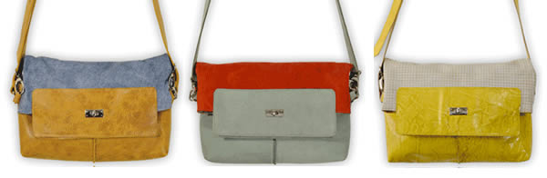 Designer bags by Heleen van der Meer