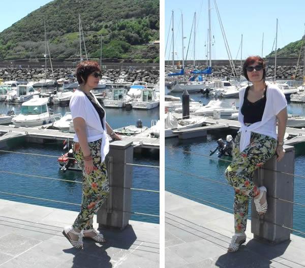flower pants