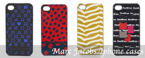 Marc Jacobs Iphone covers