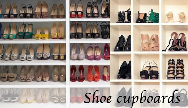 how to store shoes - shoe cupboards
