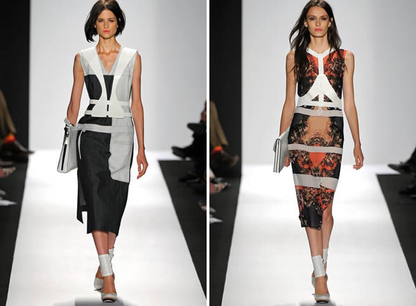 bcbg max azria spring 2013 collection hightlights