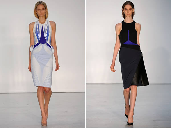 Dion Lee collection spring 2013