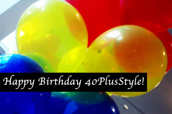 Happy birthday 40+Style!
