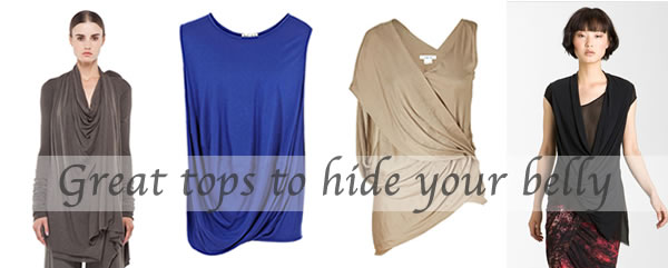 tops to hide belly