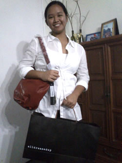 Alldressedup bag prize winner