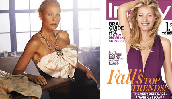 Gwyneth Paltrow in Style magazine