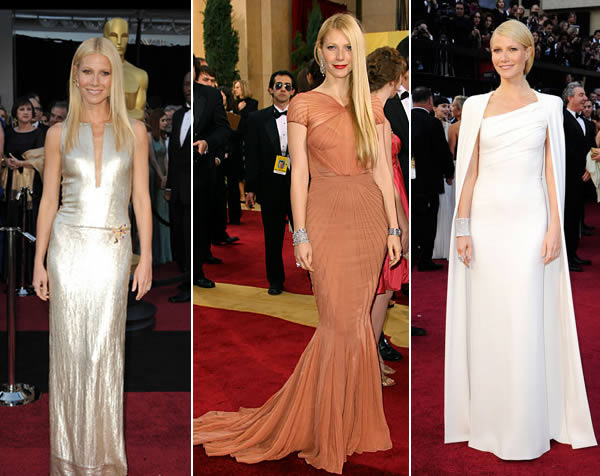 Gwyneth Paltrow oscar dresses style