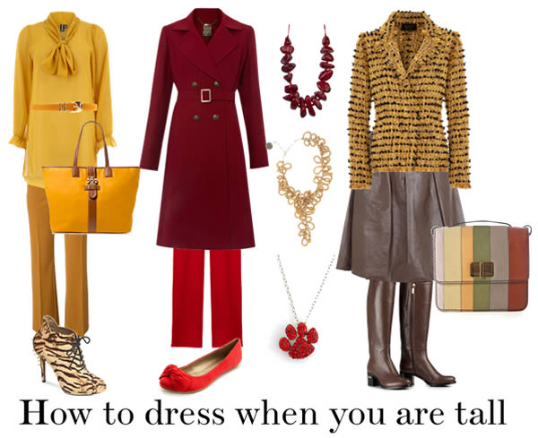 How to dress when you are tall