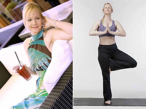 modelling yoga