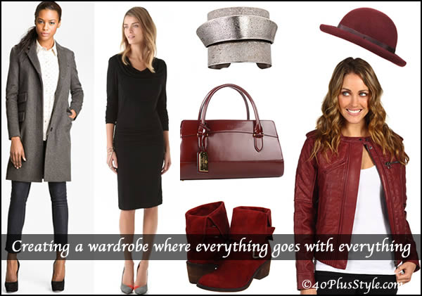 How to create a versatile wardrobe | 40plusstyle.com