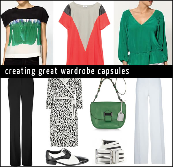 How to create wardrobe capsules