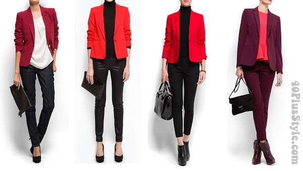 black and red combinations