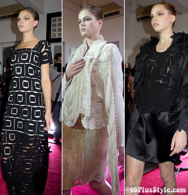 Dresses by Mauriozio Galante