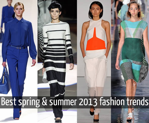 best spring summer 2013 fashion trends