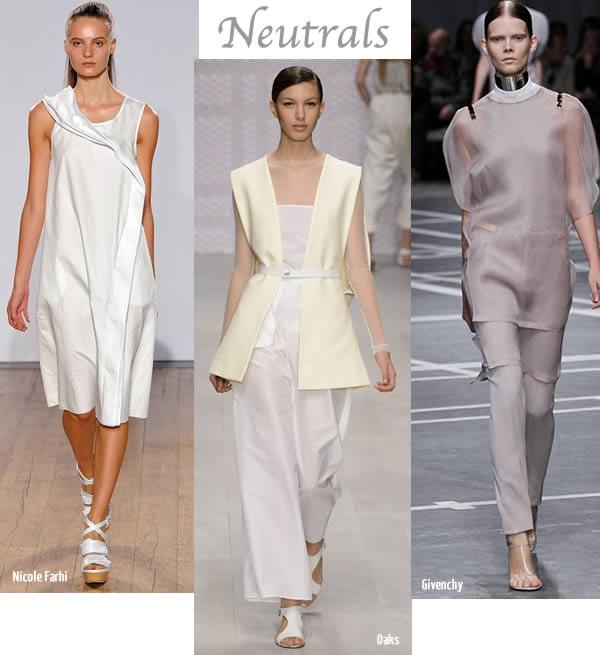spring summer 2013 trend neutrals