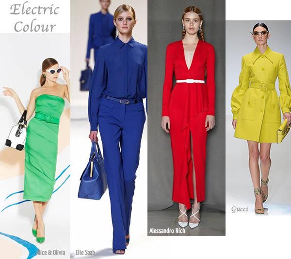 super bright colours