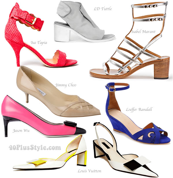 the best mid heel shoes for spring 2013