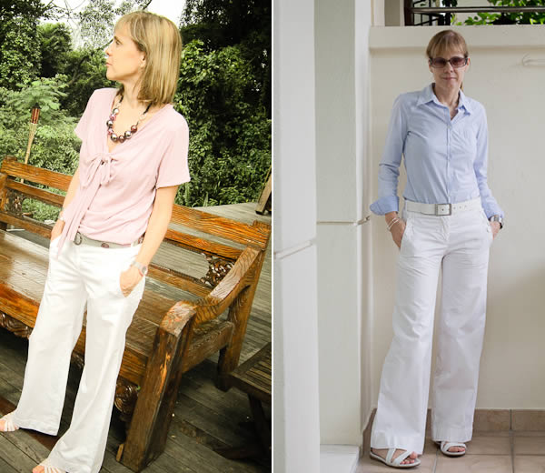 How To Wear White Pants