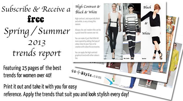 spring / summer 2013 trends report