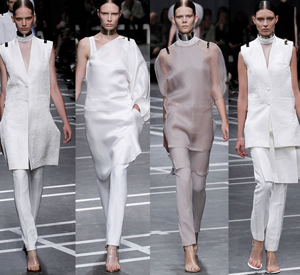 Givenchy neutrals spring 2013