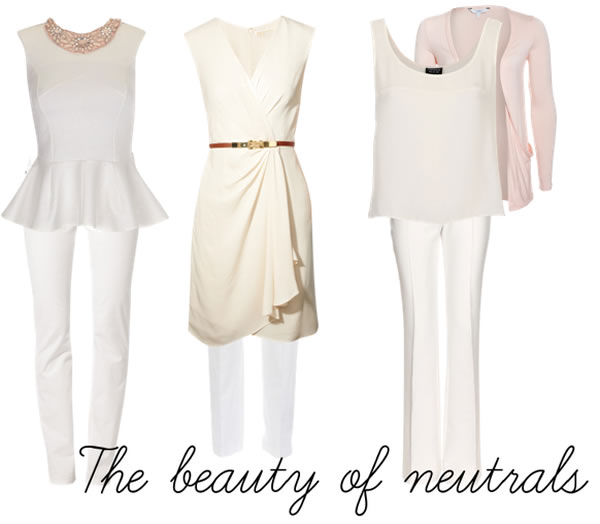 neutrals how to wear this spring