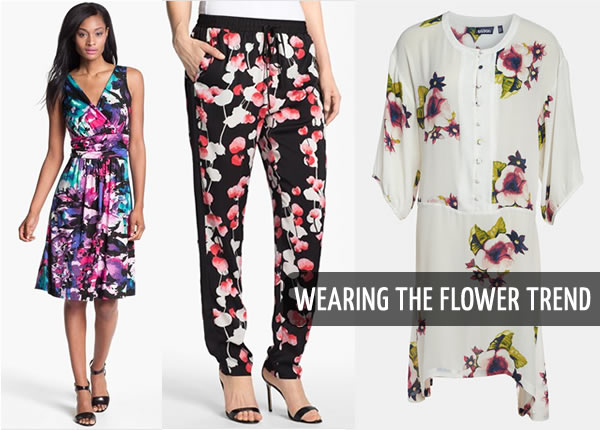 how to add wear the flower trend