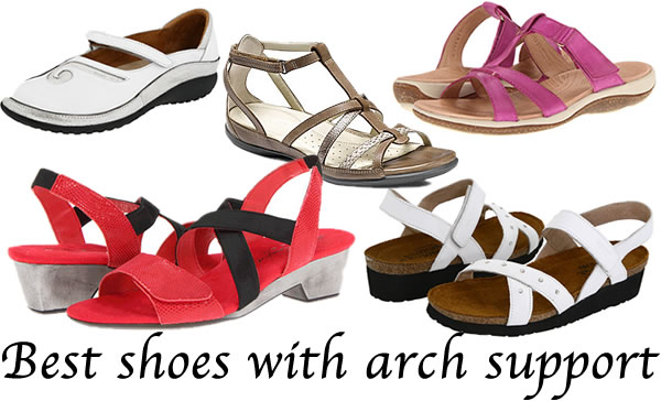 Best arch support shoes for women over 40