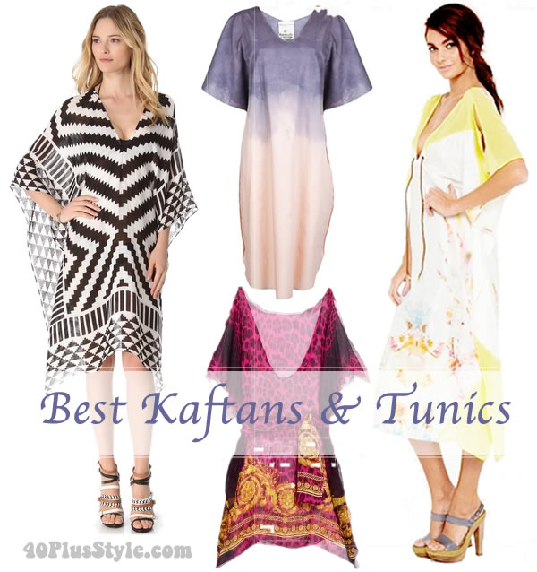 Best tunics and kaftan for women over 40