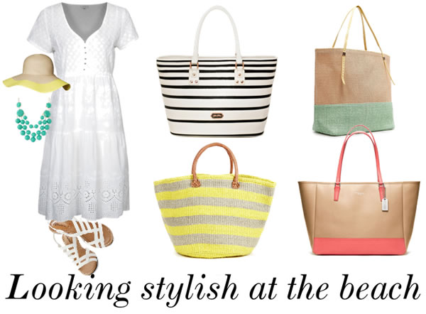 Post image for How to dress for the beach – an easy formula that involves a tote