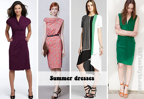 Essential summer dresses – high summer, casual, work and evening!