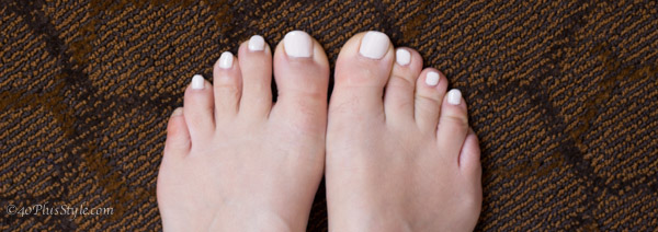 gel polish for your toes