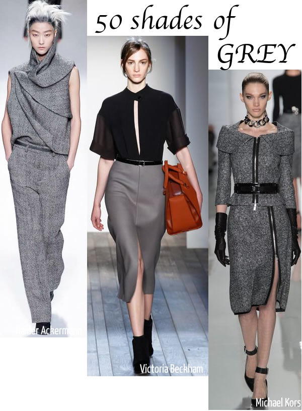 Fall Dresses For Women Over 40 Wear head to toe grey or