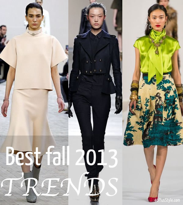 best trends for fall / winter 2013