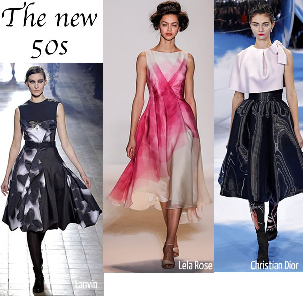 the new 50s 2013 trend for winter and fall 2013