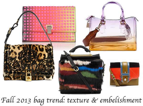 2013 fall bag trends