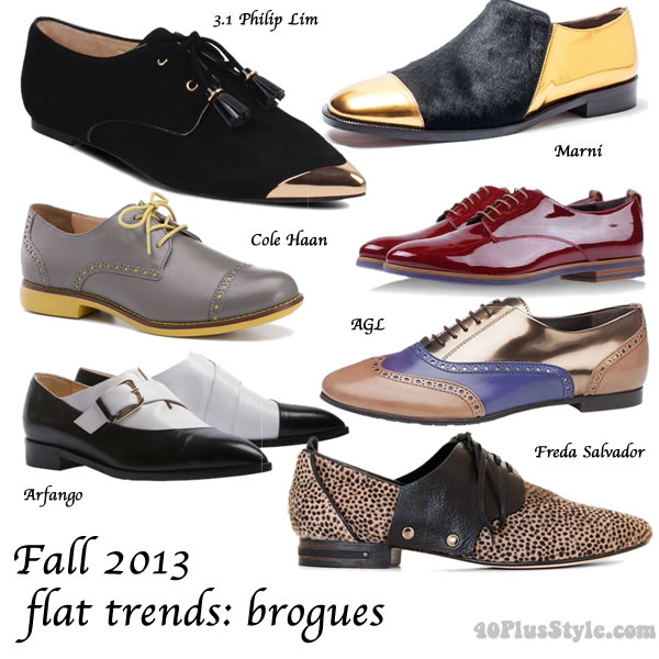 2013 fall flat shoe trends