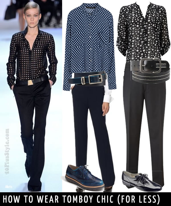 How To Wear Tomboy Chic for Less