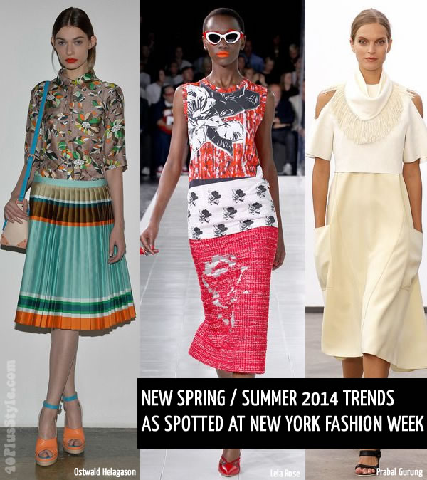 spring summer 2014 fashion trends