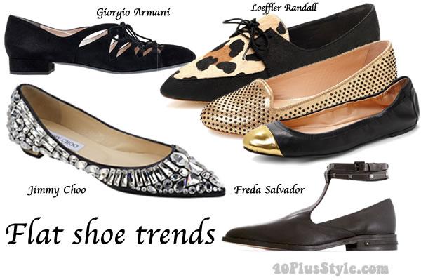 Flats Ballerinas - Designer Shoe Warehouse - Town Shoes
