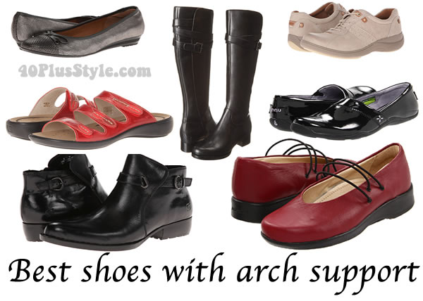 Luxury Womens Dress Shoes With Arch Support