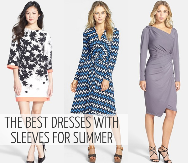 best dresses with sleeves
