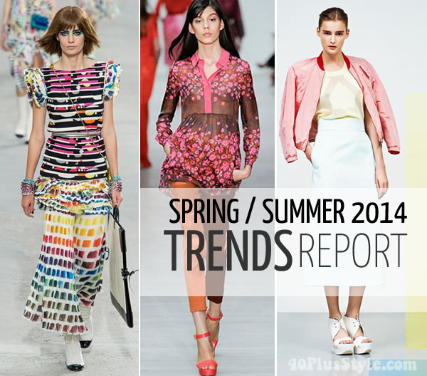 best trends for spring and summer 2014
