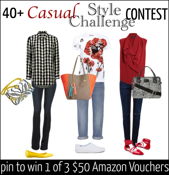 Join the 40Plus Casual Style Challenge and stand to win 1 of 3 $50 Amazon vouchers   40plusstyle.com