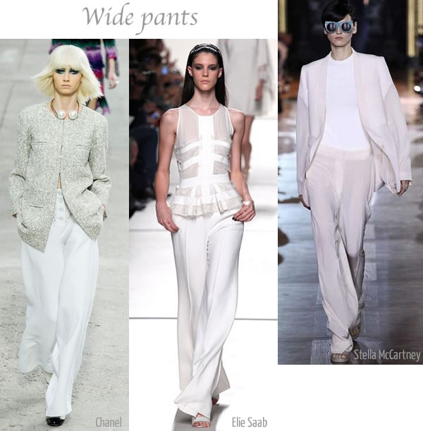spring 2013 trend Wide Pants | 40PlusStyle.com
