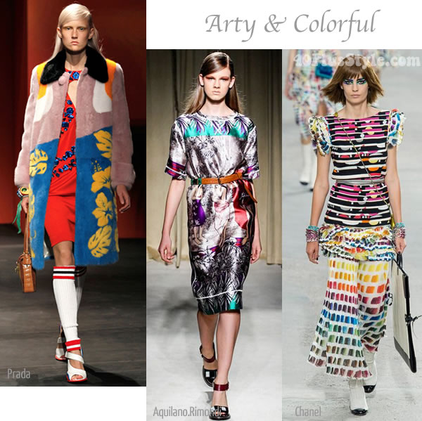 summer trend Arty and Colorful | 40PlusStyle.com