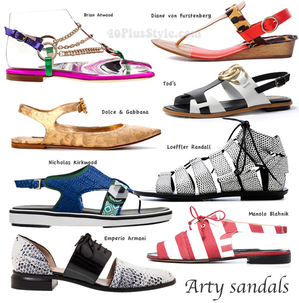 flat shoe trends report for spring 2014 | 40PlusStyle.com