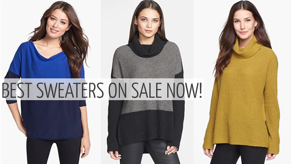 Best sweaters on sale now | 40PlusStyle.com