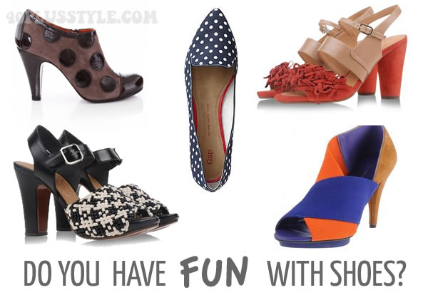 Do you have fun with shoes? | 40PlusStyle.com